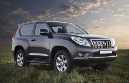 Toyota Land Cruiser Prado 150 Series Closed Off-Road Vehicle