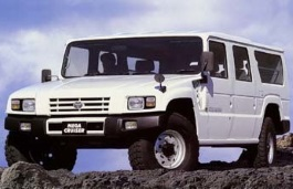 Toyota Mega Cruiser Closed Off-Road Vehicle
