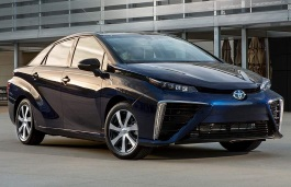 Toyota Mirai wheels and tires specs icon