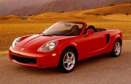 opony do Toyota MR2 Spyder III [1999 .. 2002] [USDM] Convertible, 2d (W30)