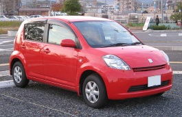Toyota Passo wheels and tires specs icon