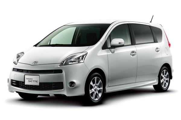 Toyota Passo Sette (M500) MPV