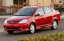 Toyota Platz wheels and tires specs icon