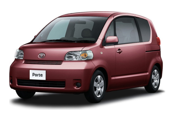 Toyota Porte wheels and tires specs icon