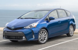 Toyota Prius v wheels and tires specs icon