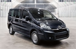 Toyota Proace wheels and tires specs icon