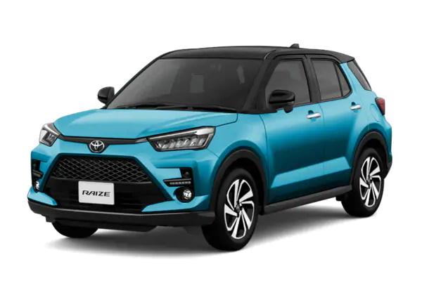 Toyota Raize wheels and tires specs icon