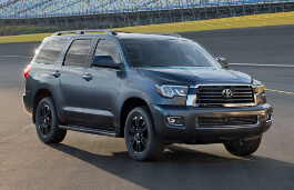Toyota Sequoia II Facelift Closed Off-Road Vehicle