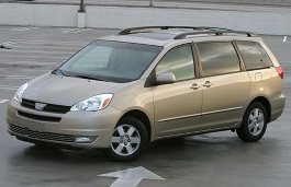 Toyota Sienna 2005 Wheel Tire Sizes Pcd Offset And Rims