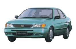 Toyota Soluna wheels and tires specs icon