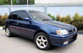 Toyota Starlet wheels and tires specs icon