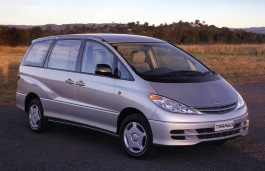 Toyota Tarago wheels and tires specs icon