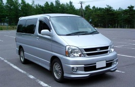 Toyota Touring Hiace wheels and tires specs icon