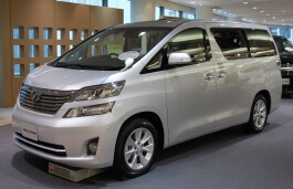 Toyota Vellfire - Specs of wheel sizes, tires, PCD, Offset and Rims