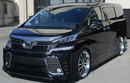 Toyota Vellfire - Specs of wheel sizes, tires, PCD, Offset