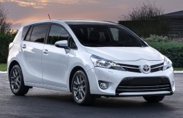 Toyota Verso wheels and tires specs icon