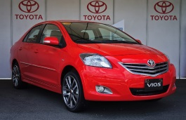 Toyota Vios wheels and tires specs icon