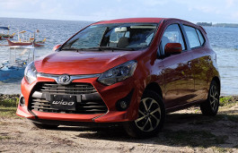 Toyota Wigo Restyling Hatchback