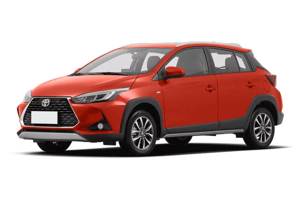 Toyota Yaris L X wheels and tires specs icon