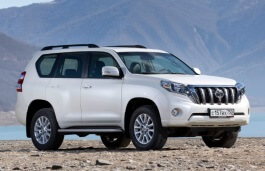 Toyota Land Cruiser Prado 150 Series Restyling Closed Off-Road Vehicle