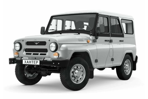UAZ Hunter wheels and tires specs icon