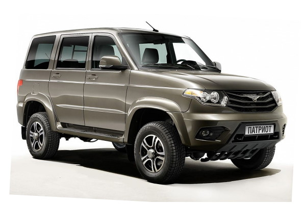 UAZ Patriot 3163 Restyling 1 Closed Off-Road Vehicle