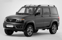 UAZ Patriot I Restyling Closed Off-Road Vehicle