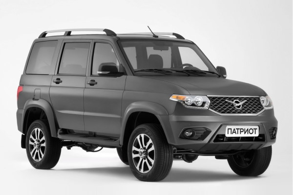 UAZ Patriot 3163 Restyling 2 Closed Off-Road Vehicle