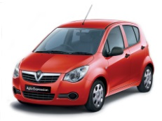 Vauxhall Agila wheels and tires specs icon