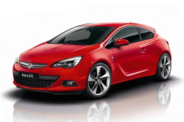 Vauxhall Astra GTC wheels and tires specs icon