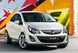 Vauxhall Corsa wheels and tires specs icon