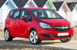Vauxhall Meriva wheels and tires specs icon