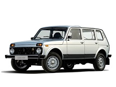 VAZ 2131 2131x Closed Off-Road Vehicle