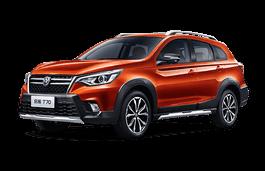 opony do Venucia T70 2018 .. 2018 SUV, 5d
