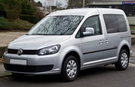 Volkswagen Caddy Typ2K Facelift MPV