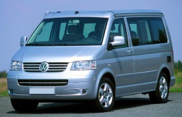 Volkswagen California wheels and tires specs icon