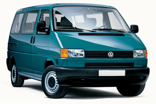 Volkswagen Caravelle wheels and tires specs icon