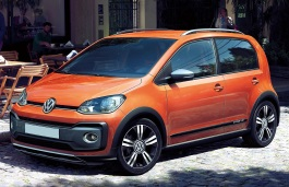 vw up cross 2017