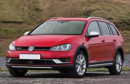 Volkswagen Golf Alltrack wheels and tires specs icon