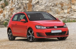 Volkswagen Golf GTI wheels and tires specs icon