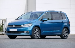 Volkswagen Golf Touran wheels and tires specs icon