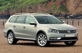Volkswagen Passat Alltrack wheels and tires specs icon