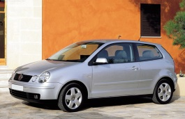 Volkswagen Polo wheels and tires specs icon
