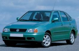 Volkswagen Polo Classic Räder- und Reifenspezifikationensymbol