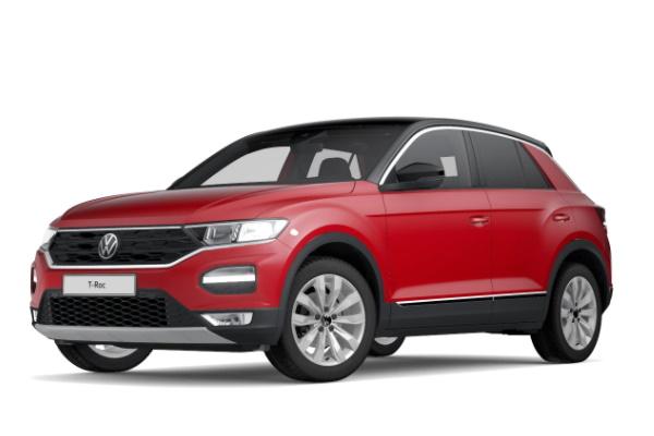 Icona per specifiche di ruote e pneumatici per Volkswagen T-Roc