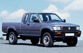 Volkswagen Taro 7A Pickup Extra Cab