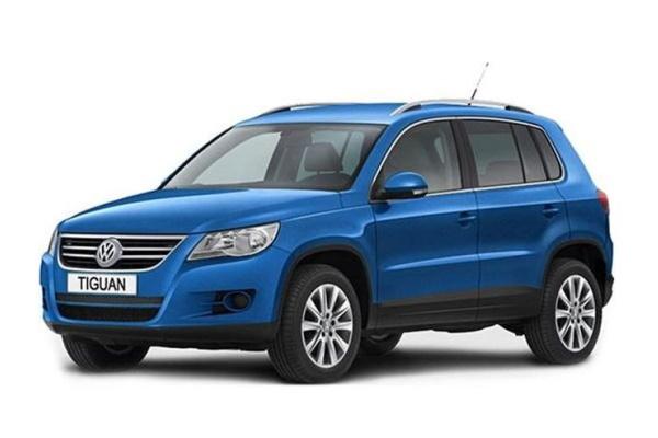 Icona per specifiche di ruote e pneumatici per Volkswagen Tiguan