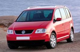 roues et icone de spécifications de pneus pour Volkswagen Touran