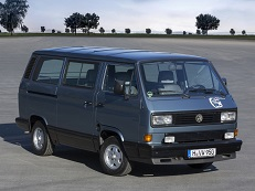 Автомобиль Volkswagen Multivan T3 EUDM, год выпуска 1989 - 1992