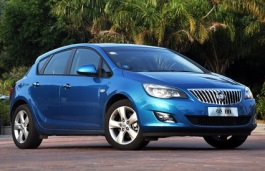 Buick Excelle XT wheels and tires specs icon